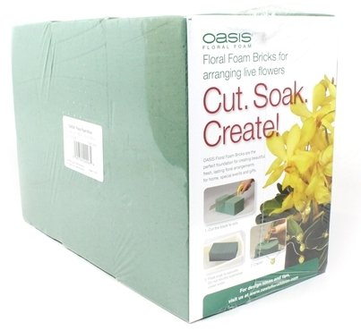 (Oasis Pack of 6 Standard Floral Foam)