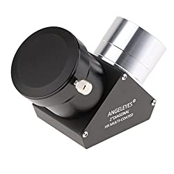 """Dolity Telescope Prism Diagonal Mirror For Celestron Astronomical Photography Accessory 2"""" Mount Interface"""