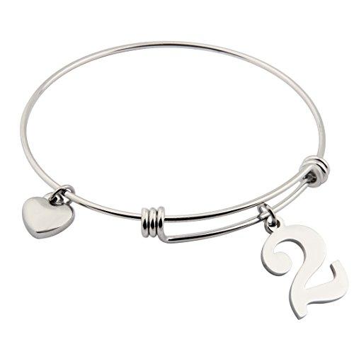 ensianth-stainless-steel-bracelet-lucky-number-bracelet-adjustable-bangle-gift-for-her-number2