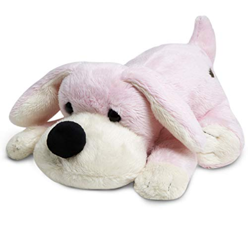 FAO Schwarz Soft & Cuddly Penelope The Pup Stuffed Puppy for Children Cute & Fluffy Plush Doggy for Kids, Bedtime Pal for Toddlers & Infants with Floppy Ears & Big Snout - 9