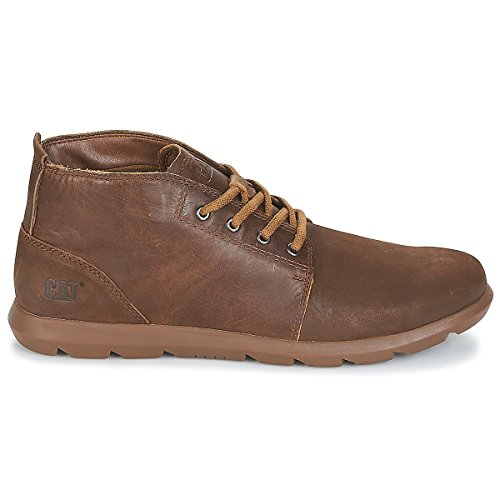 Caterpillar Mens Arven Mid Leather Boots Peanut