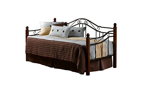 (Hillsdale Furniture 1010DBLHTR Madison Daybed with with Pull Out Trundle)