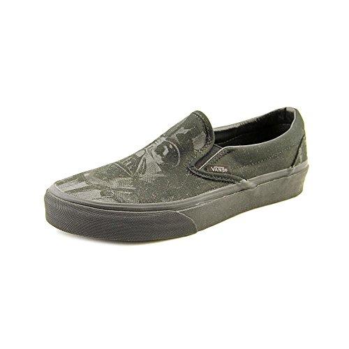 Vans Unisex Star Wars Darth Vader Classic Slip On Shoes-Darkside/Darth -