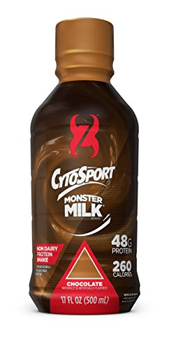CytoSport Monster Milk Protein Shake, Chocolate, 48g Protein, 17 FL OZ, 12 Count