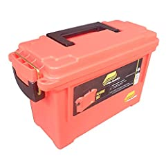 This box is perfect for tool kits, flares, first aid supplies. Anything you put in this box will stay safe and dry. It features a water-resistant O-ring seal and a comfortable over molded handle.