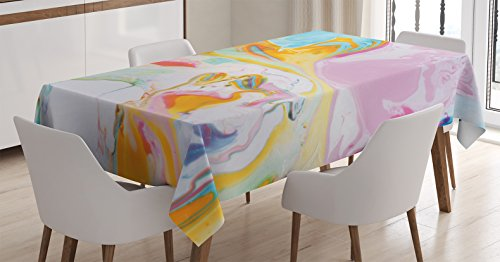 Ambesonne Psychedelic Contemporary Illustration Rectangular product image