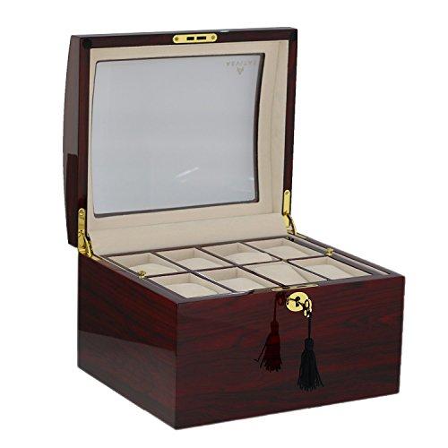 Superior Qualität Palisander Armbanduhr Collector Box für 16Uhren von aevitas