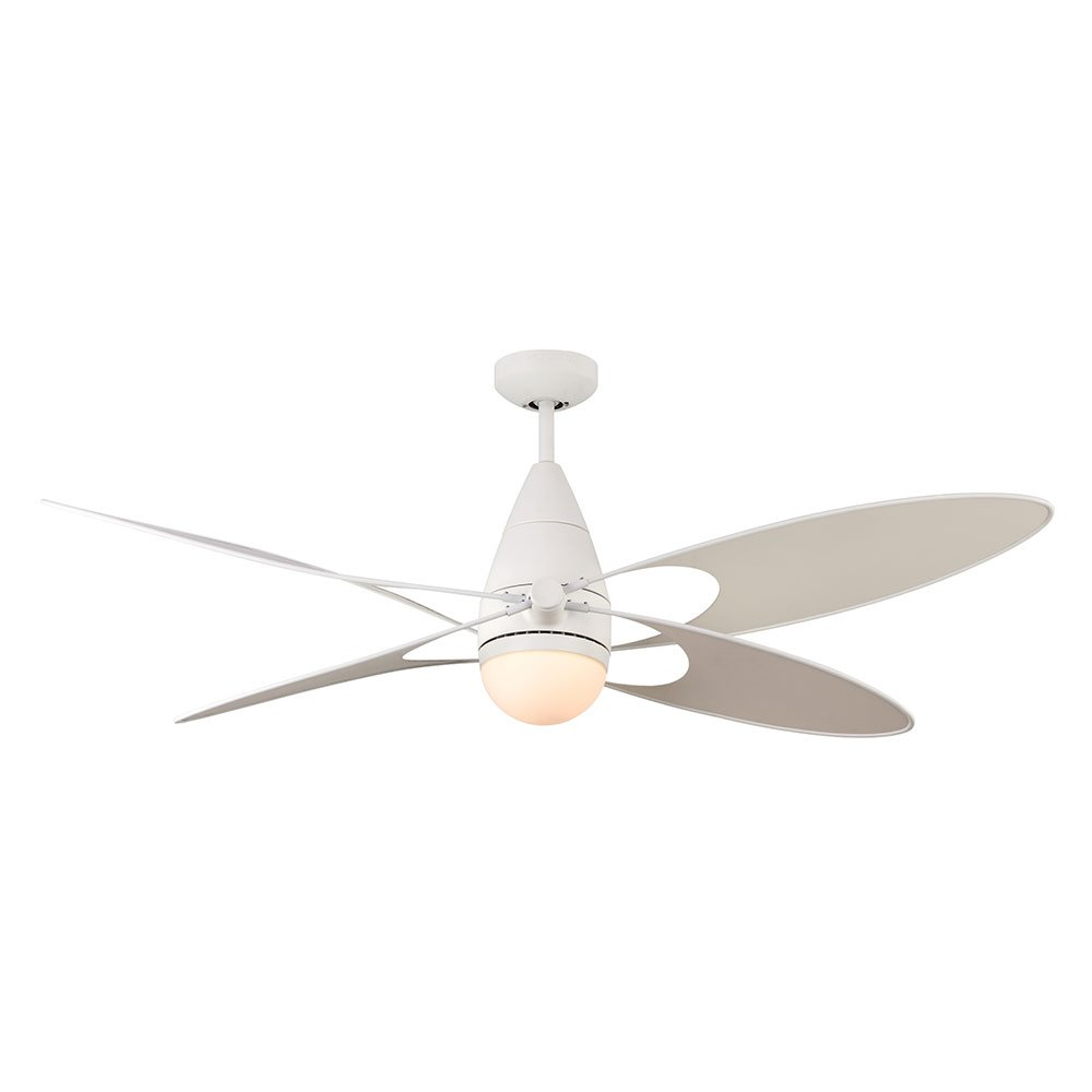 Monte Carlo 4BFR54RZWD Damp Location Butterfly Ceiling Fan by Monte Carlo
