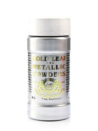 Gold Leaf & Metallic Co. Metallic and Mica Powders fine aluminum 1 oz.