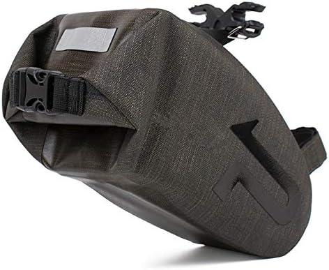 自転車用サドルバッグ サドルバッグの完全な防水性とタフな性格3Dシェル、バックル取り付け自転車バッグ MBTまたはロードバイクシート用