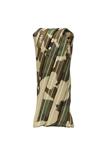 Zipit Camo Pencil Case - Green