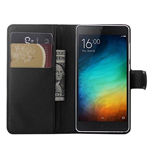 Funda Xiaomi Mi 4i,Manyip Caja del teléfono del cuero,Protector de Pantalla de Slim Case Estilo Billetera con Ranuras para Tarjetas, Soporte Plegable, Cierre Magnético B