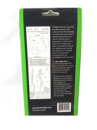 Yardage Book Cover Diy : Golf yardage book my caddie pro pack