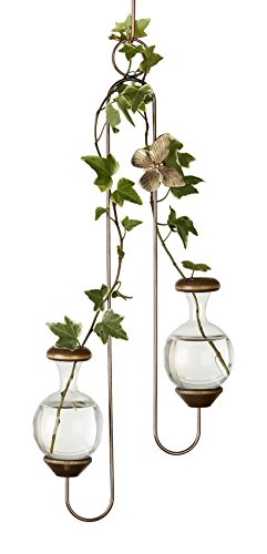 Hanging Brass Butterfly (The Brass Butterfly Double Hanger Planters)