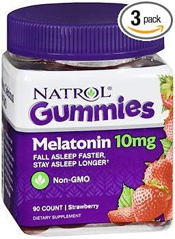 Natrol Melatonin 10 mg Gummies Strawberry - 90 ct, Pack of 3 melatonin Melatonin – The Benefits of Melatonin in Sleep Disorders 41Ko 2BnAXjpL