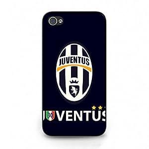 Juvents Phone Funda,iPhone 4/iPhone 4S Funda,Hard Plastic Phone Funda,Football Culb Phone Funda