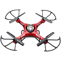 Inkach 6-Axis Gyro 5.8G FPV RC Quadcopter Drone with HD Camera Monitor and 2PC Motor