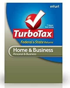 TurboTax Home & Business Federal + E-File + State 2012 for Mac [Old Version]