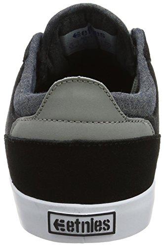 Etnies Hitch, Color: Black/Grey/Silver, Size: 48 Eu / 14 Us / 13.5 Uk