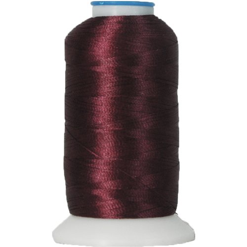 Rayon Embroidery Thread No. 390-1000M - Intense Maroon (Maroon Thread)