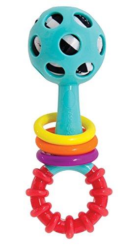 Sassy Poke-A-Dot Rattle