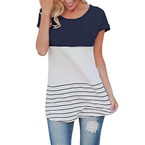 casual-t-shirthemlock-women-long-loose-shirt-striped-blouse-tops-s-navy