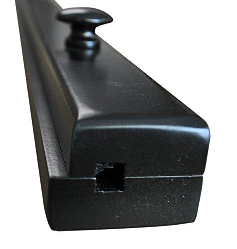 Wood Maple Amish - Black Quilt Hanger 48