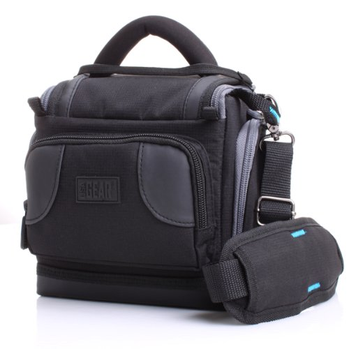 USA Gear Camera Bag Case for Panasonic LUMIX FZ80 , FZ70 , F