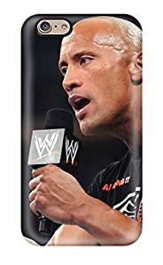 Samsung Galaxy S6 Tpu Phone Case Cover(the Rock Wallapepr )