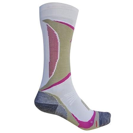 Intersport, chaussettes thermiques de ski femme Basisschicht Skiing Tec P 100 Socks Bianco (Weiß) 39-42 Pro Feet 23-274713720205