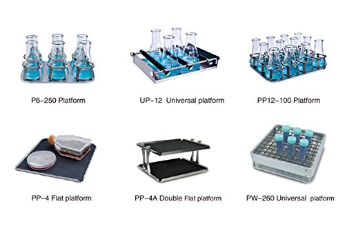 Platforms for Temperature Controlled Incubator & Shaker Scientific Incu-Shaker Shaking Incubator 50~300rpm R.T.+5 ~60°C ES-60 (P12-100)