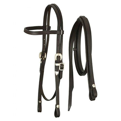 Royal King Browband Headstall with Reins