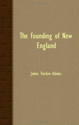Image of The Founding of New England