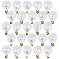 OxyLED G40 reservelampen voor buitenverlichting, met 25 warmwitte lampen, klasse A