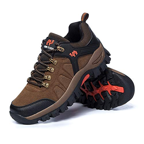 Low Trainers Trekking Outdoor Lightweight Hiking Waterproof Climbing Rise Boots Shoes Women's Brown Walking xwngR0Iqff