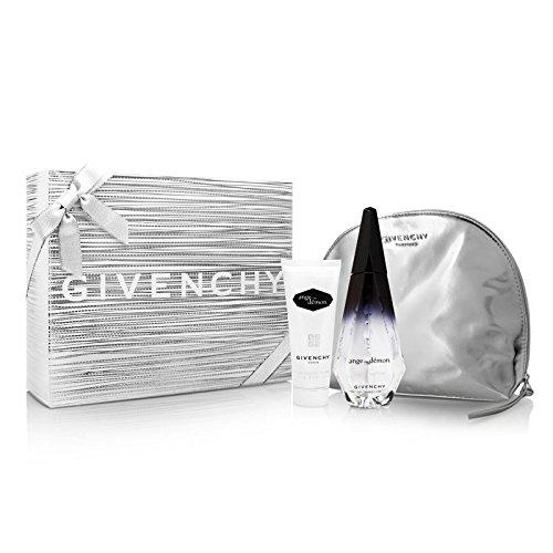 Ange Ou Demon by Givenchy for Women 3 Piece Set Includes: 3.3 oz Eau de Parfum Spray + 2.5 oz Silky Body Veil + Travel Pouch