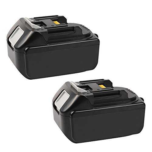 Bingogous 2-Pack 18V 5.0AH LXT Lithium-Ion Replacement Battery for Makita BL1850 BL1840 BL1830 LXT-400 194204-5 Cordless Power Tools