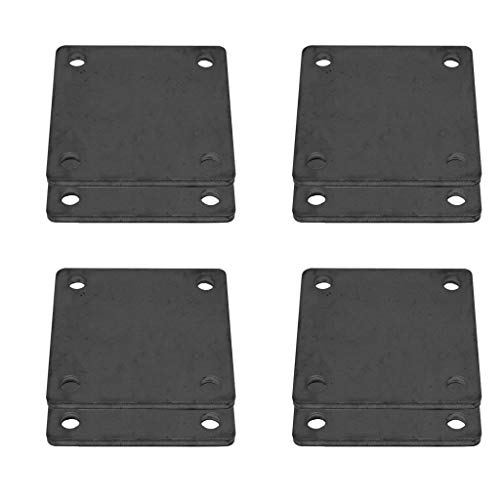 (8 Pcs of Hot Rolled Steel Base Plate 6