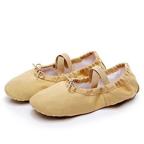 4 39 Cuir Griffe Chat Yoga Size Fille Bas Eu Toile color En Danse Pour Mxnet Ballet Chaussures De Antidérapant Femmes wTUqIvap
