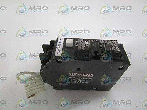 Breaker, 20a Gfci 1-Pole SIEMENS ENERGY & AUTOMATION QF120P