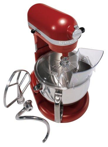 KitchenAid Professional 600 Series KP26M1XER Bowl-Lift Stand Mixer, 6 Quart, Red Cayenne