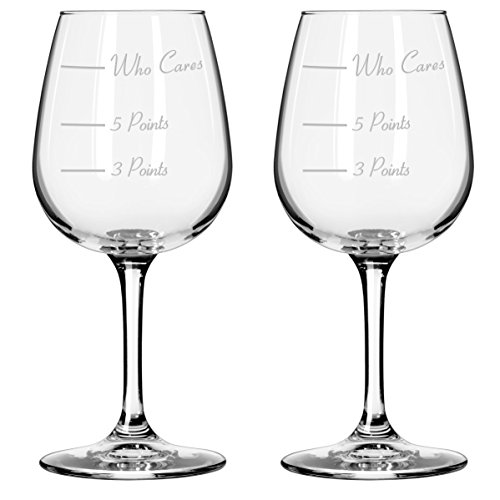 The Points Glass Wine Glass by Caloric Cuvee (Set of 2)