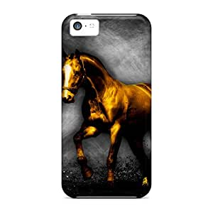 Defender Case With Nice Appearance (thegoldenhorse) For Iphone 5c