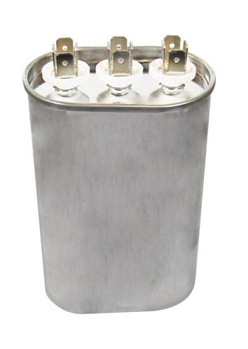 Oval SUPCO CD35+3X440 Dual Motor Run Capacitor 1.75 Width 30 Inc 4.125 Height 2.8125 Length 4.125 Height 1.75 Width 2.8125 Length Sealed Unit Parts Co 5 Mfd x 440V