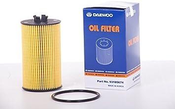 Fits Chevrolet Orlando Genuine Bosch Oil Filter Insert