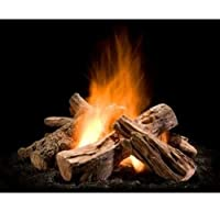 Wilderness Split Outdoor Gas Firepit Log...