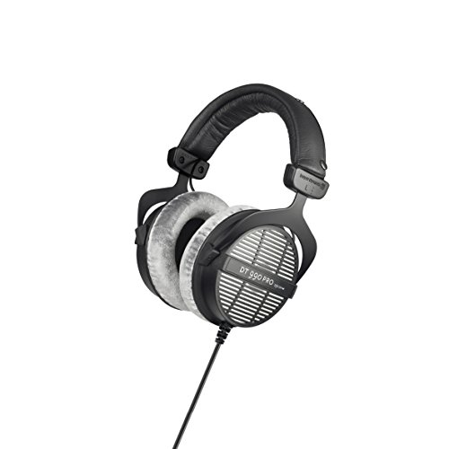 beyerdynamic DT 990 PRO Over-Ear Studio Headphones in black. Open construction, ()