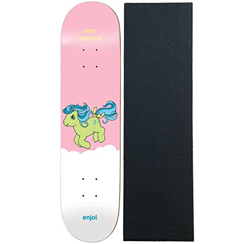 Enjoi Skateboard Deck Raemers My Little Pony 8.125″ With Pro Grip