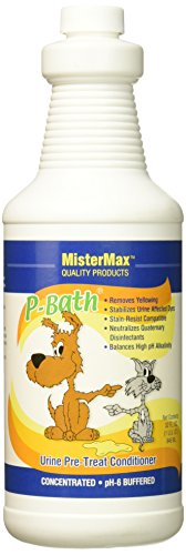 Mister Max P-Bath Urine Pre Treat Conditioner, Quart - Neutralizer G-whiz