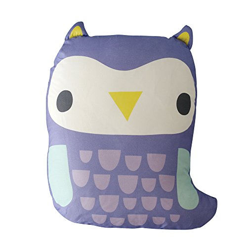 Rucoorganic Animal Organic Cotton Baby Doll & Pillow 48cmx63cm Emma(owl) by Rucoorganic